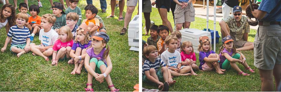 Kids and Snake
