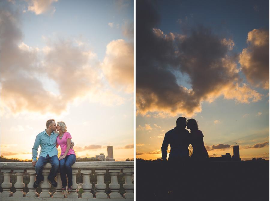 Austin and Amber - Sunset