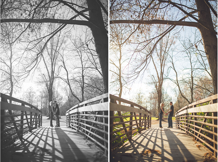 Austin and Amber - Wood Bridge